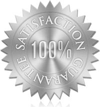 100% Satisfaction Guarantee InkFX